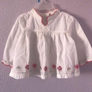 Vintage white cotton shirt